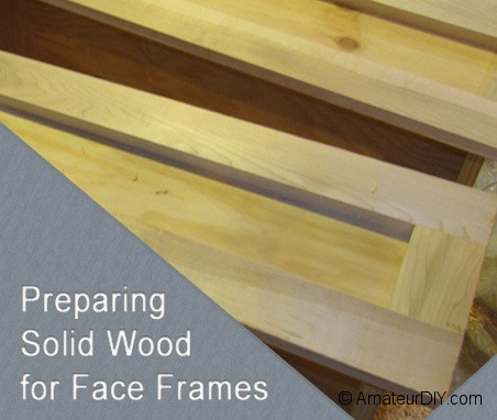 solid wood face frames