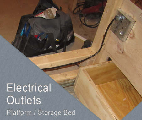 Bed Frame Electrical - Adding Outlets
