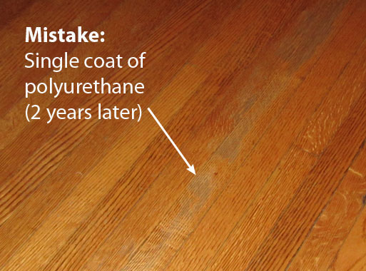Wood Floor Apply Polyurethane On Wood Floor
