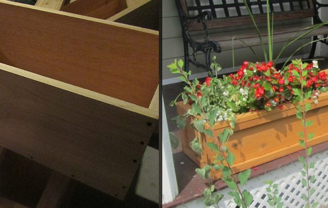DIY Flower Boxes Part II – Assembly